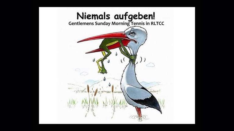 Sunday Morning Gentlemen's Tennis